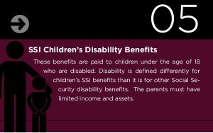 ssi childrens disability benefits